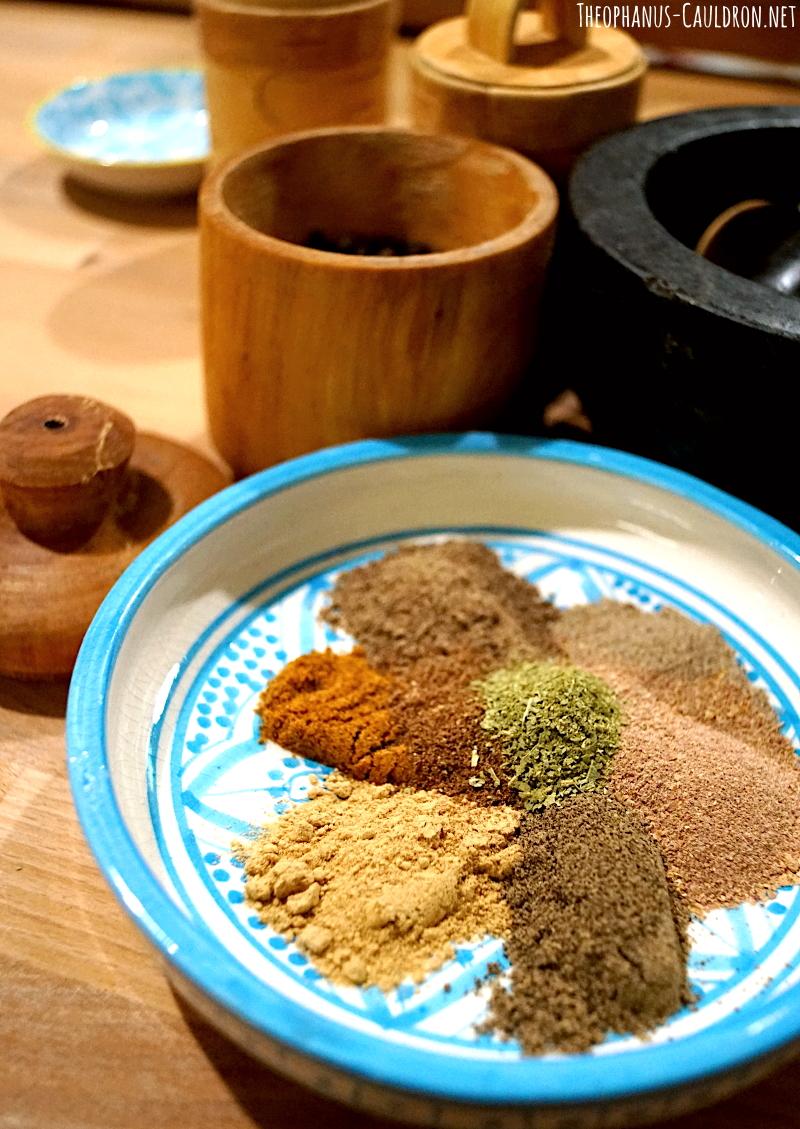 13th century spice blend from medieval Orient: Atraf Al-tib